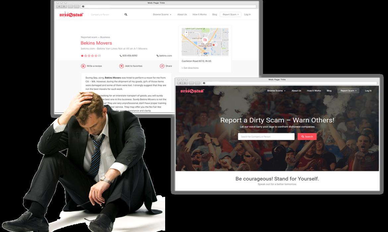 Dirtyscam.com Removal