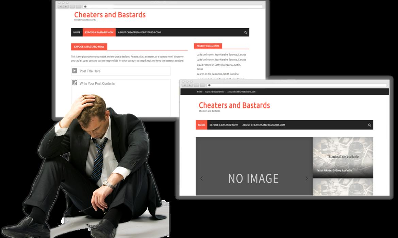 cheatersandbastereds.com-Removal