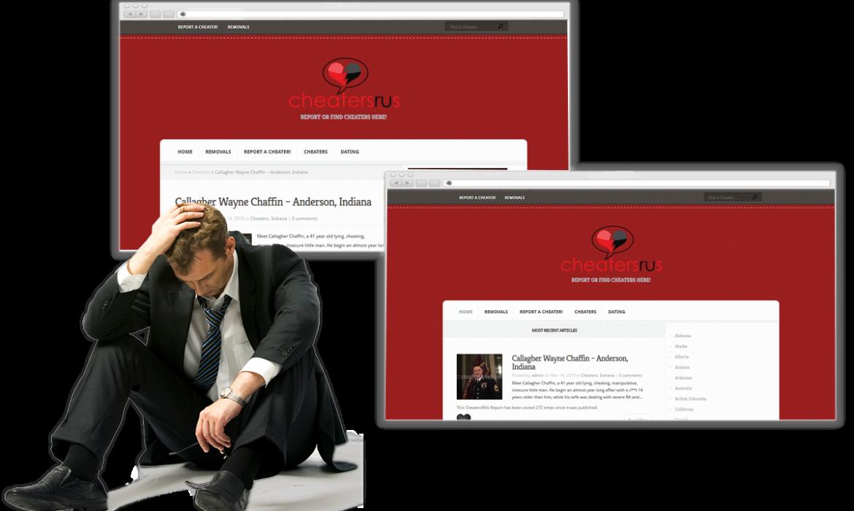 cheatersareus.com-Removal